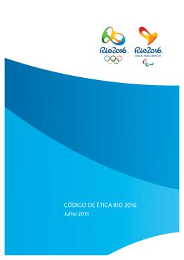 Anexo 3 - Código de Ética Rio 2016