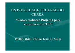 - Universidade Federal do Ceará