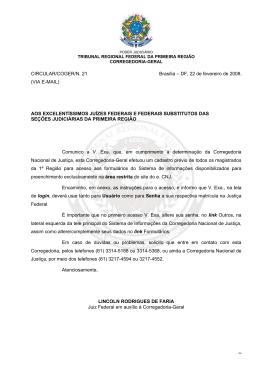 View/Open - Tribunal Regional Federal da 1ª Região