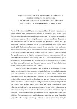 1 antecedentes da presença espanhola no continente. dos reis