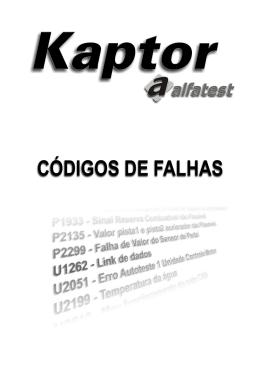 Manual de Falhas V1.09