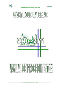 Normas de controlo interno