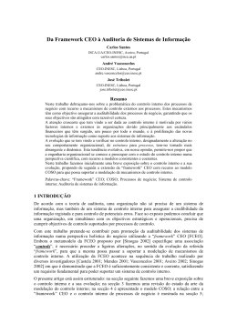 Instruções para os autores de artigos para a 5ª Conferência da