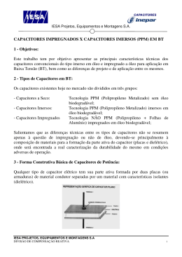 Capacitores MP x PPM