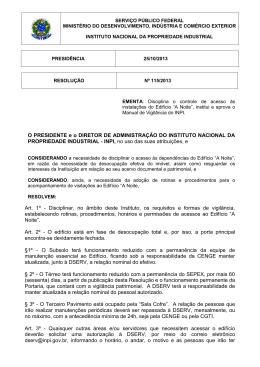 Resolução PR nº 115 de 25/10/2013