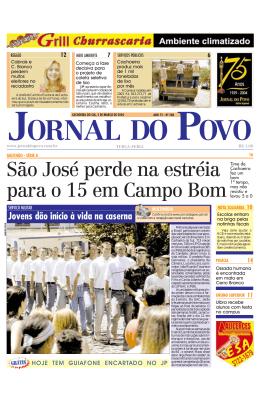 São José perde na estréia para o 15 em Campo Bom