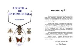 Apostila de Entomologia