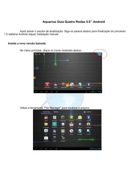 Aquarius Guia Quatro Rodas 5.0`` Android