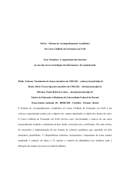 SaUni – Sistema de Acompanhamento Acadêmico - Reposital