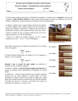 Ficha de interpretação de gráficos