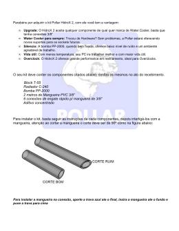 Parabéns por adquirir o kit Pollar HidroX, com ele você tem a