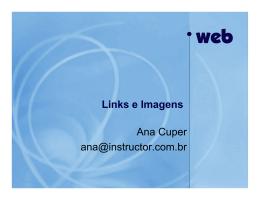 Aula 3 - Links e Imagens