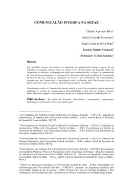 UNIVERSIDADE SALVADOR - UNIFACS