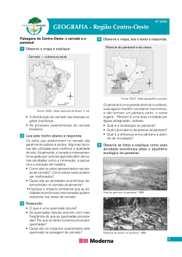 Projeto Araribá – Região Centro
