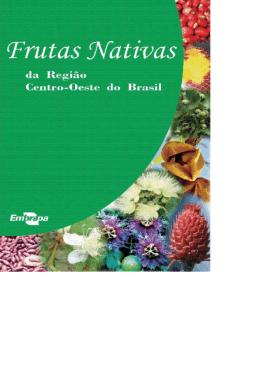 Livro Frutas Nativas da região centro