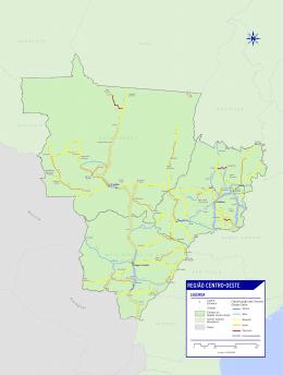 REGIÃO CENTRO-OESTE - Pesquisa CNT de Rodovias 2015