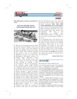 Inglês - Etapa