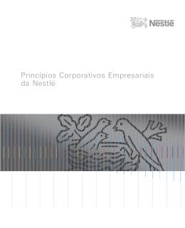 Princípios Corporativos Empresariais da Nestlé