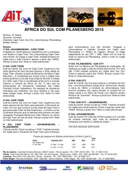 Africa do Sul com Pilanesberg