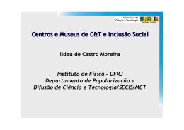 Dia 1 - Ildeu Moreira