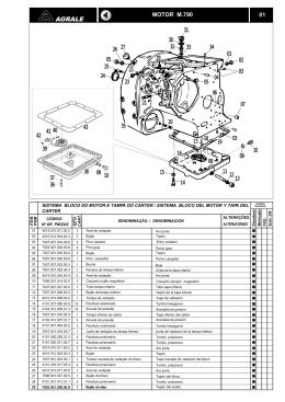 Catálogo AGRALE M790 - Lintec Veículos e Motores