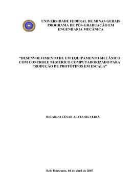 universidade federal de minas gerais programa de pós
