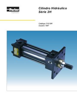 Cilindro Hidráulico Série 2H - Hipress Componentes Hidráulicos