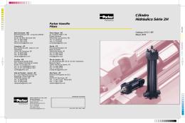 Cilindro Hidráulico Série 2H