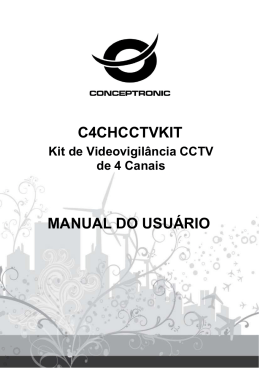 C4CHCCTVKIT MANUAL DO USUÁ RIO