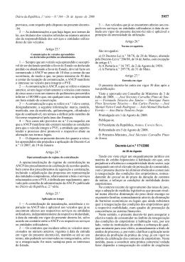 Decreto-Lei n.º 171/2008 - Centro Nacional de Informação e