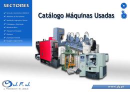 Catálogo Máquinas Usadas Stock