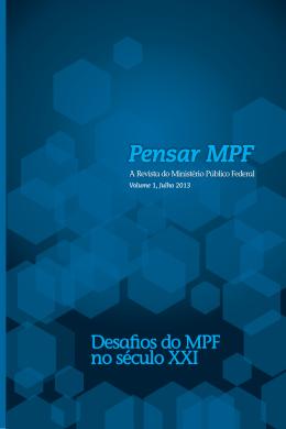 Pensar MPF - Procuradoria-Geral da República