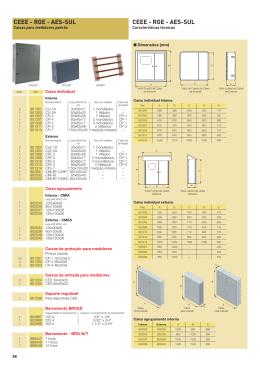 caixa para medicao - Eletrostar Elétrica Comercial