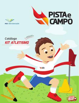 KIT ATLETISMO - Pista e Campo