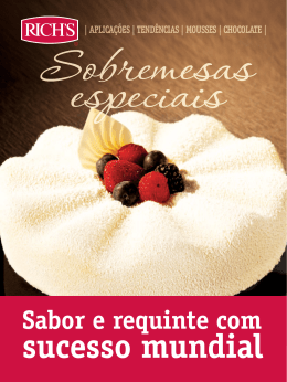 Cobertura Fracionada Chocolate Branco Rich`s