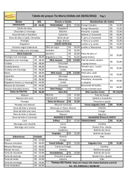 Tabela de preços Tia Maria (Válido até 28/02/2016) Pag 1