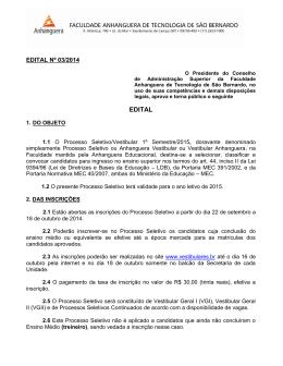 EDITAL CONJUNTO PROAC/DAC Nº 01/08