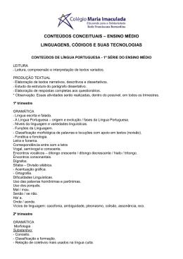 abrir lista em pdf - Colégio Maria Imaculada.