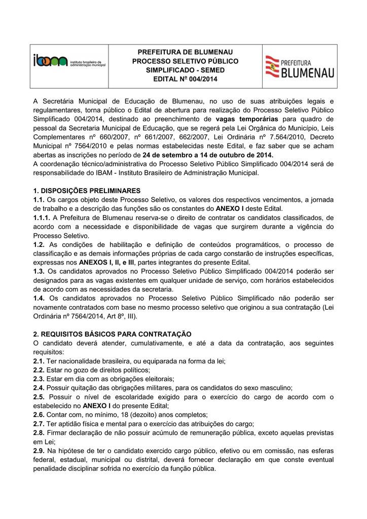 documentação do concurso94934 Como E Feito O Exame De Compatibilidade #20