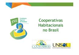Cooperativas Habitacionais no Brasil