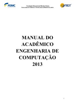 manual do acadêmico engenharia de computação 2013