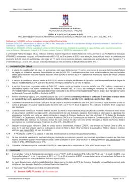 Edital n. 01.2015 - retificado em 08.06.2015