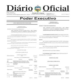 Poder Executivo - Diário Oficial