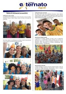 Boletim Informativo – 20-02-2015 – Especial de Carnaval