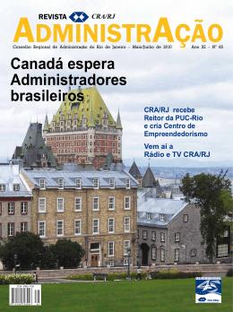 Revista AdministrAção – Edição Número 85 - CRA-RJ