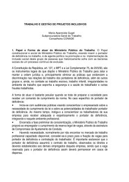 A Constituição da República, art. 127, o MPT e a Lei Complementar