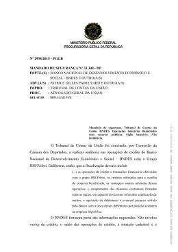 O Tribunal de Contas da União foi concitado, por Comissão da