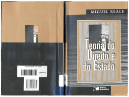 Teoria do Direito e do Estado