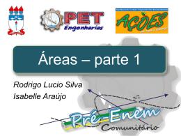Áreas – parte 1 - Universidade Federal de Alagoas