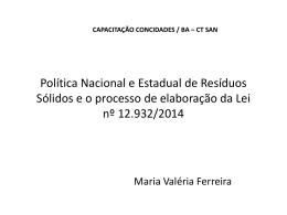 Valéria Ferreira – Resíduos